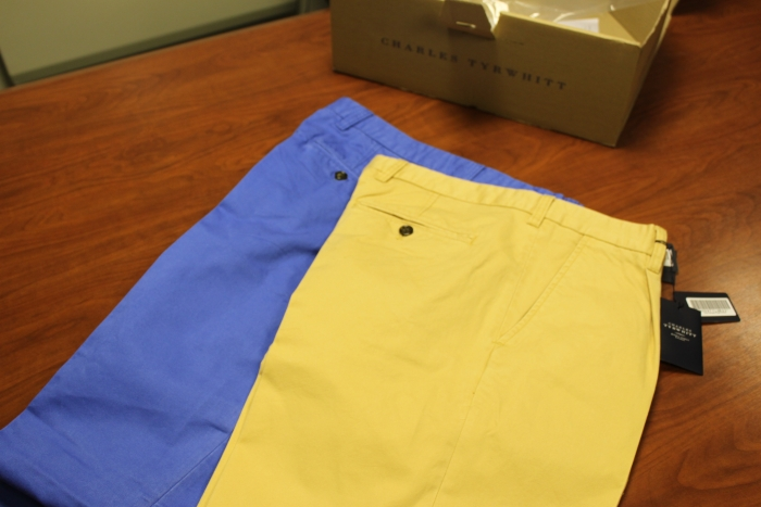 Charles tyrwhitt chinos review blogging for the sharp for Charles tyrwhitt shirts review